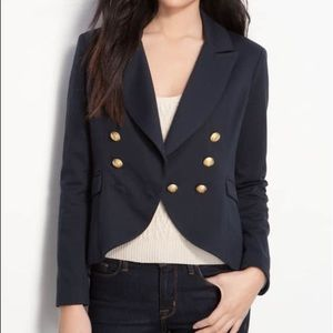 Willow & Clay Double Breasted Fishtail Blazer